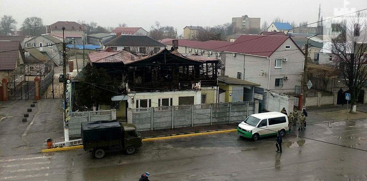 пожар в Кирилловке