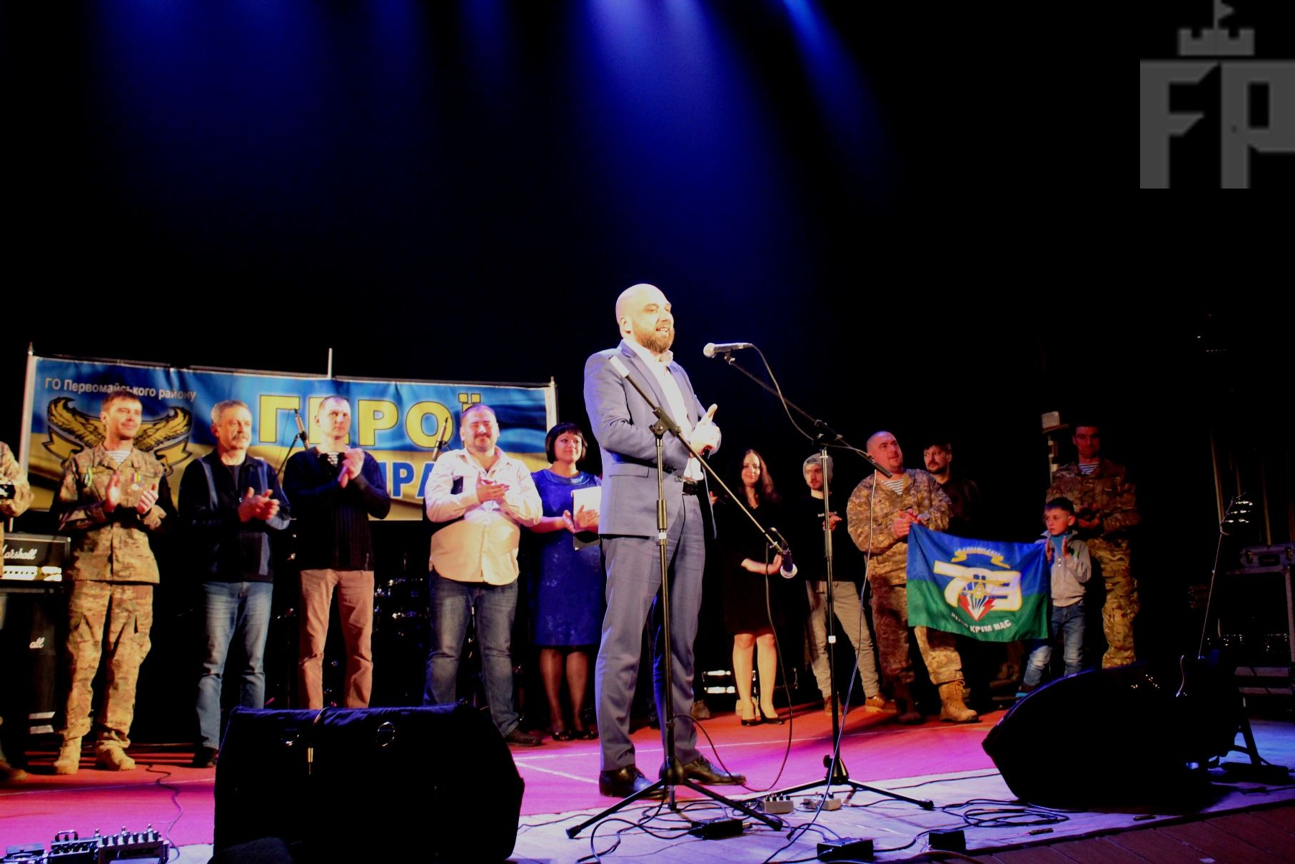 Запоріжці змогли послухати творчість бійців АТО, присвячену побратимам (фото)