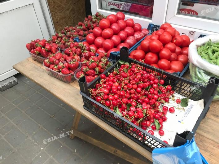 В продаже появилась первая черешня, почему до сих пор ягоды нет в Днепре. Новости Днепра