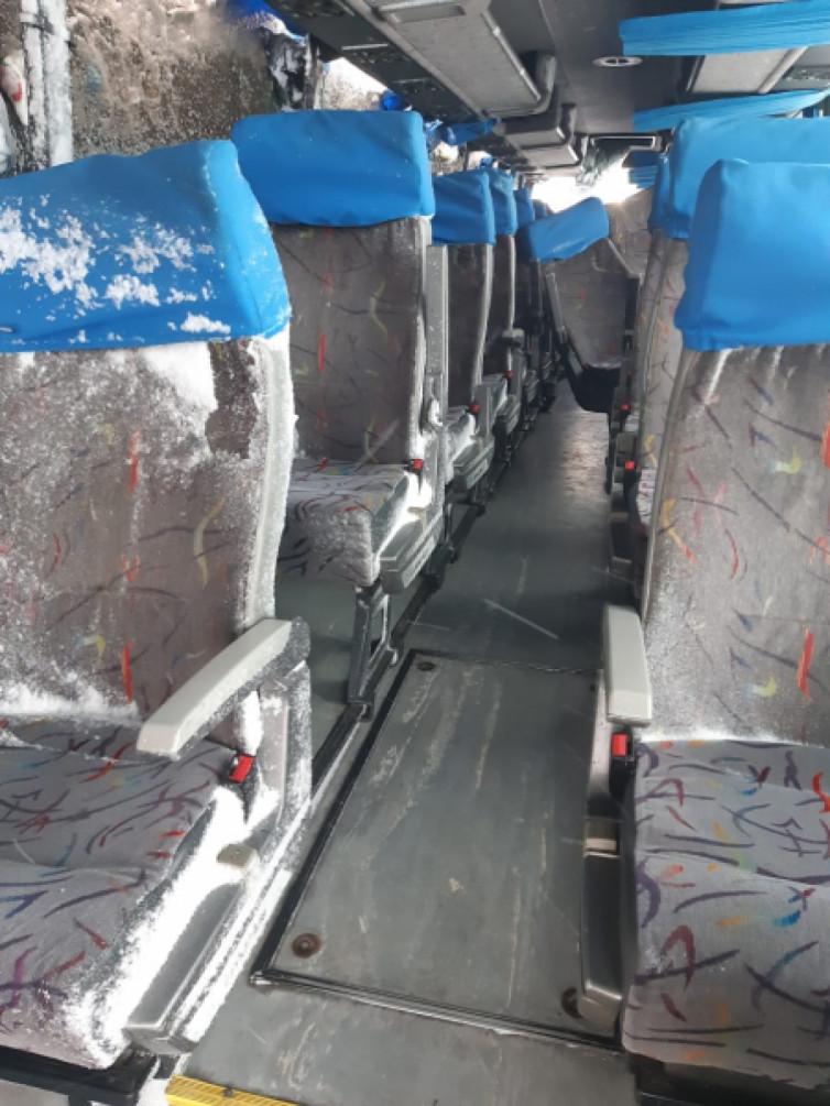 В Росії перевернувся запорізький автобус: серед постраждалих громадяни Украаїни