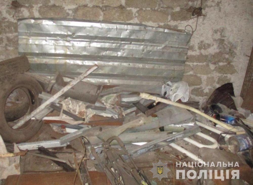 Правоохоронці вилучили близько 3 тонн металобрухту в незаконному пункті прийому
