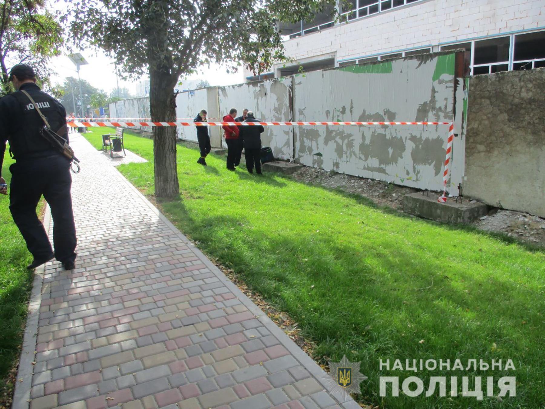 У Запоріжжі під час будівництва виявили гранату: фото
